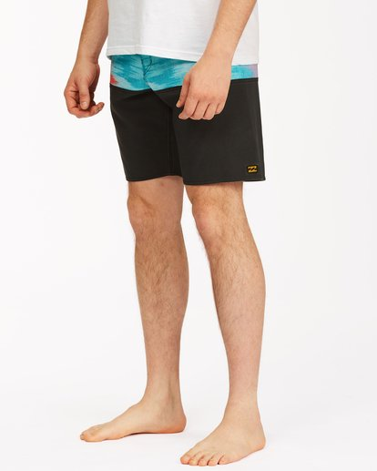 """3 Fifty50 Panel Pro Boardshorts 19"""" Red ABYBS00136 Billabong"""