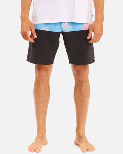 """4 Fifty50 Panel Pro Boardshorts 19"""" Blue ABYBS00136 Billabong"""