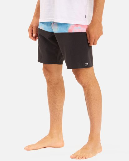 """5 Fifty50 Panel Pro Boardshorts 19"""" Blue ABYBS00136 Billabong"""