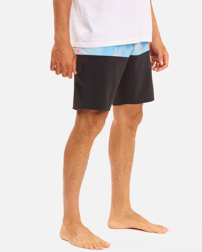 """6 Fifty50 Panel Pro Boardshorts 19"""" Blue ABYBS00136 Billabong"""