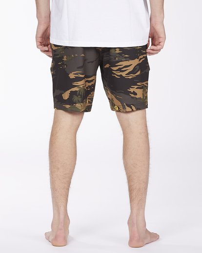 5 Surftrek Pro Boardshort Green ABYBS00137 Billabong