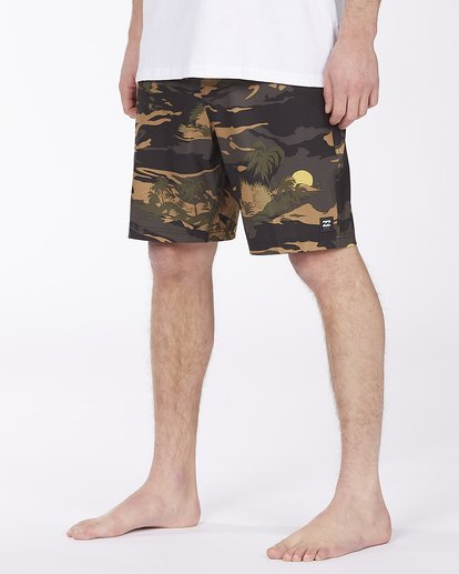 3 Surftrek Pro Boardshort Green ABYBS00137 Billabong