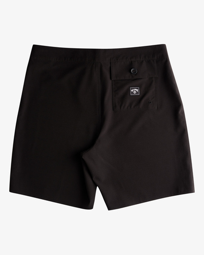"""1 All Day Eco Pro Boardshort 17"""" Black ABYBS00140 Billabong"""