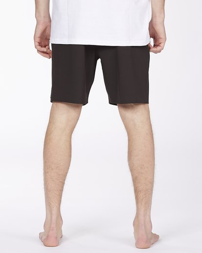 """5 All Day Eco Pro Boardshort 17"""" Black ABYBS00140 Billabong"""