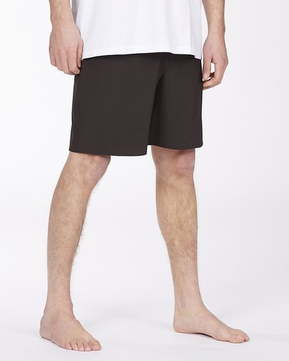 """4 All Day Eco Pro Boardshort 17"""" Black ABYBS00140 Billabong"""