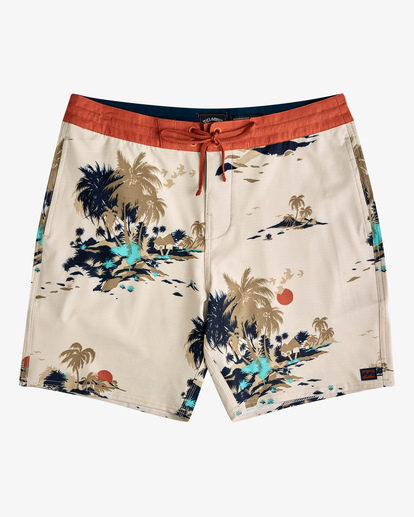 0 Surftrek Lo Tide Boardshort Brown ABYBS00146 Billabong