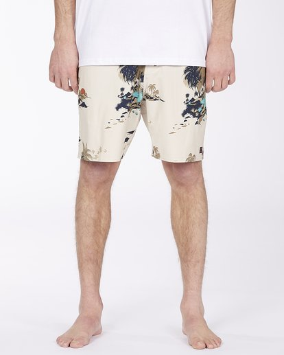 2 Surftrek Lo Tide Boardshort Brown ABYBS00146 Billabong