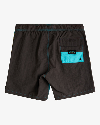 "1 Currents Layback Boardshorts 17"" Green ABYBS00147 Billabong"