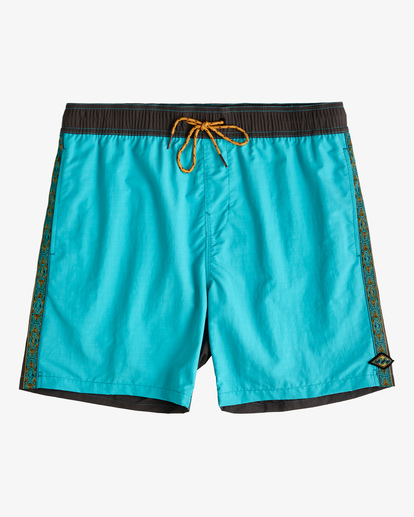 "0 Currents Layback Boardshorts 17"" Green ABYBS00147 Billabong"