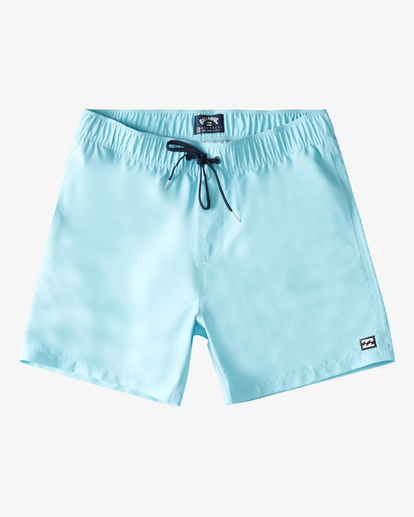 "0 All Day Layback Boardshorts 16"" Blue ABYBS00153 Billabong"