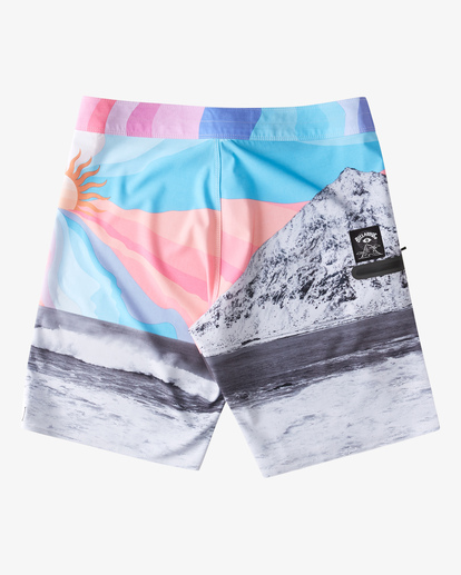 "2 A/Div Eyesolation Boardshorts 18"" Grey ABYBS00172 Billabong"