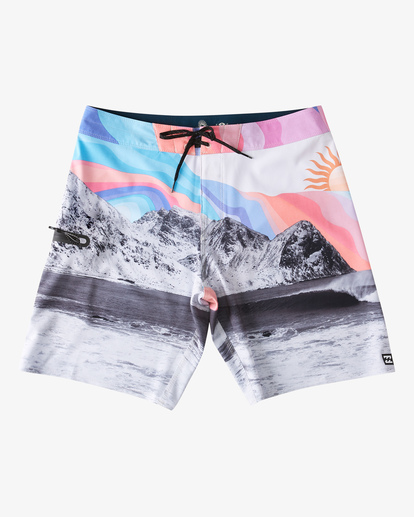 "1 A/Div Eyesolation Boardshorts 18"" Grey ABYBS00172 Billabong"