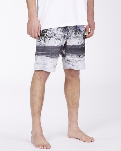 "5 A/Div Eyesolation Boardshorts 18"" Grey ABYBS00172 Billabong"