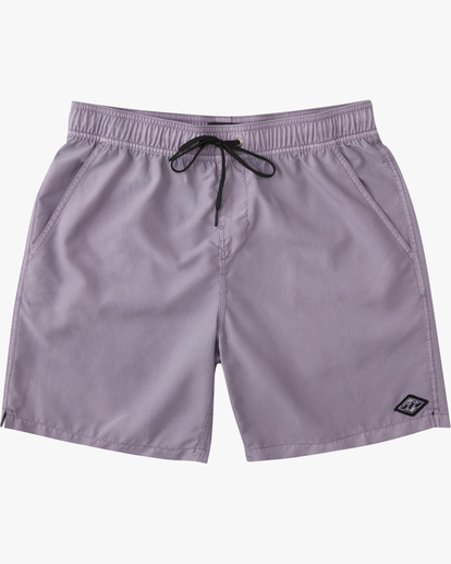 """0 All Day Overdyed Essential Boardshorts 17"""" Purple ABYBS00226 Billabong"""