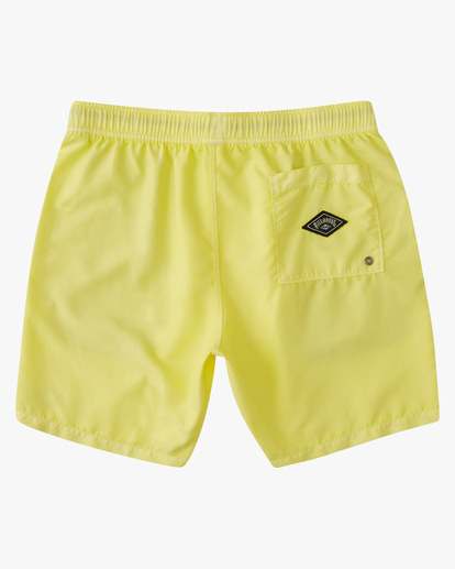 1 All Day Overdyed Essential Boardshort Yellow ABYBS00226 Billabong