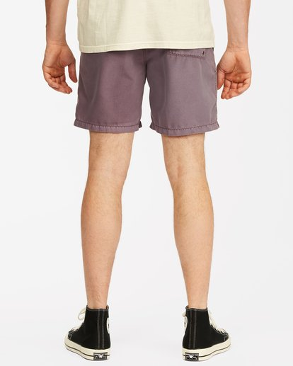 """5 All Day Overdyed Essential Boardshorts 17"""" Purple ABYBS00226 Billabong"""