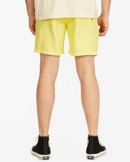 5 All Day Overdyed Essential Boardshort Yellow ABYBS00226 Billabong