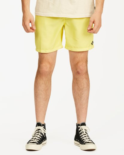 2 All Day Overdyed Essential Boardshort Yellow ABYBS00226 Billabong