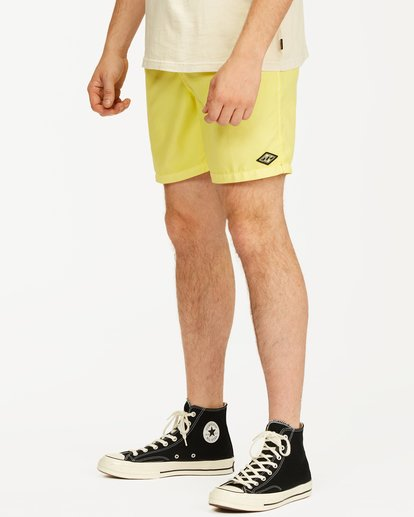 3 All Day Overdyed Essential Boardshort Yellow ABYBS00226 Billabong