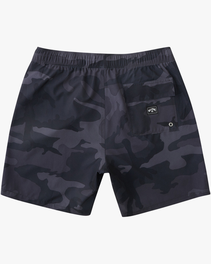 "1 Sundays Essential Boardshorts 17"" Black ABYBS00227 Billabong"