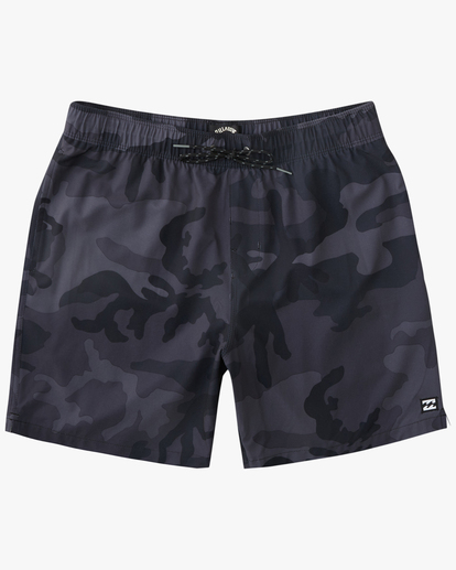 "0 Sundays Essential Boardshorts 17"" Black ABYBS00227 Billabong"