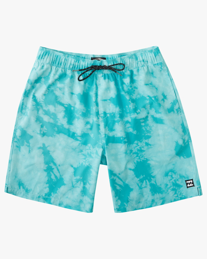 "0 Sundays Essential Boardshorts 17"" Green ABYBS00227 Billabong"