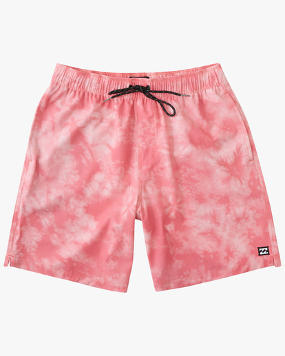 "0 Sundays Essential Boardshorts 17"" Pink ABYBS00227 Billabong"