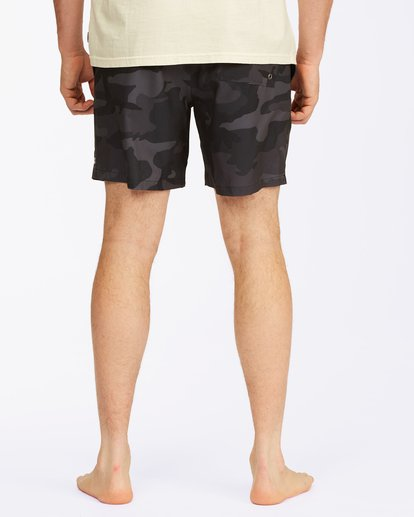 "5 Sundays Essential Boardshorts 17"" Black ABYBS00227 Billabong"