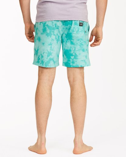 "5 Sundays Essential Boardshorts 17"" Green ABYBS00227 Billabong"