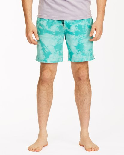 "2 Sundays Essential Boardshorts 17"" Green ABYBS00227 Billabong"