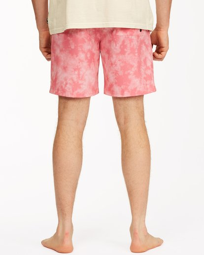 "5 Sundays Essential Boardshorts 17"" Pink ABYBS00227 Billabong"