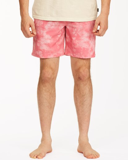 "2 Sundays Essential Boardshorts 17"" Pink ABYBS00227 Billabong"