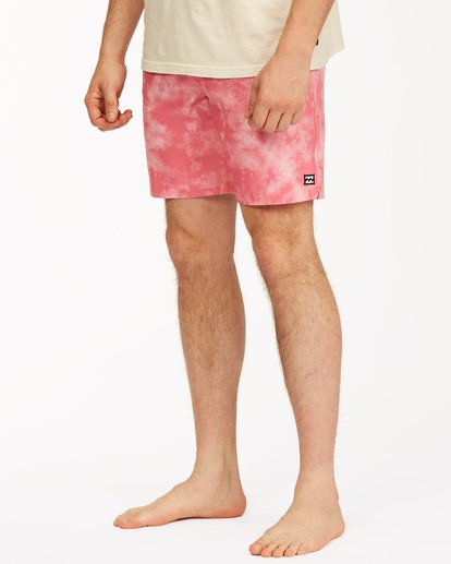 "3 Sundays Essential Boardshorts 17"" Pink ABYBS00227 Billabong"