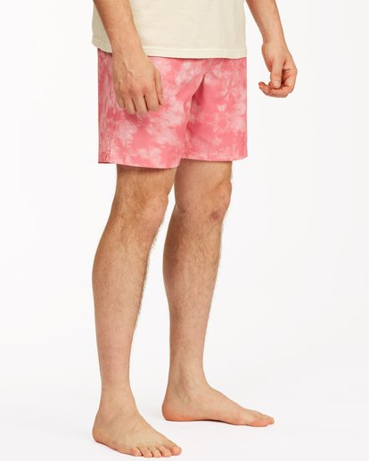 "4 Sundays Essential Boardshorts 17"" Pink ABYBS00227 Billabong"