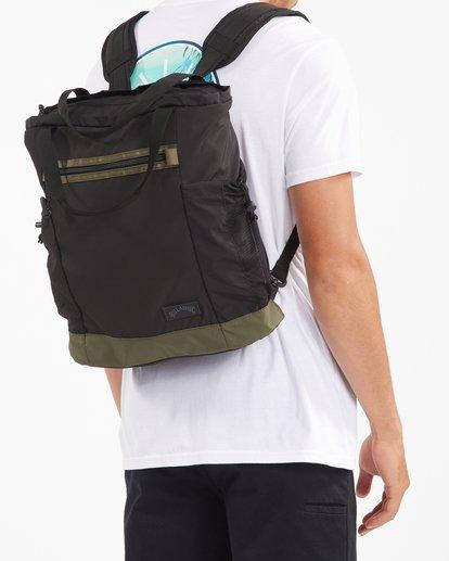 6 A/Div Transport Tote Bag Black ABYBT00103 Billabong