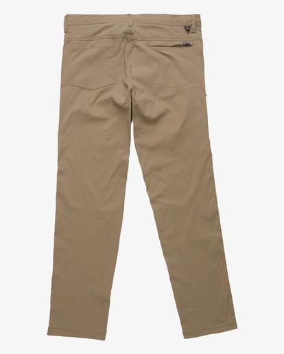 5 A/Div Surftrek Plus Pants Brown ABYDP00101 Billabong