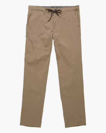 4 A/Div Surftrek Plus Pants Brown ABYDP00101 Billabong