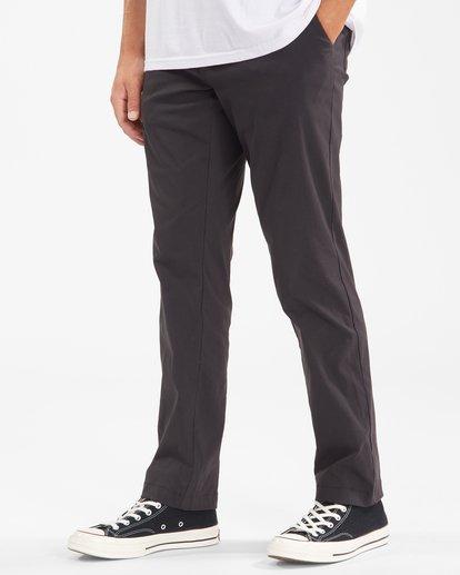 1 A/Div Surftrek Plus Pants Black ABYDP00101 Billabong