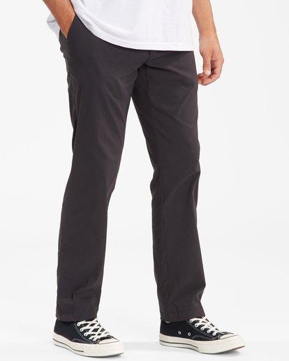 2 A/Div Surftrek Plus Pants Black ABYDP00101 Billabong