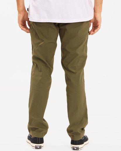 3 A/Div Surftrek Plus Pants Brown ABYDP00101 Billabong
