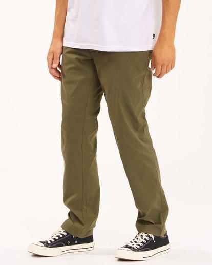 1 A/Div Surftrek Plus Pants Brown ABYDP00101 Billabong