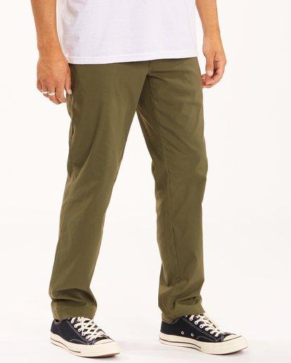 2 A/Div Surftrek Plus Pants Brown ABYDP00101 Billabong