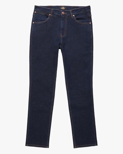 4 Wrangler 73MWOZ Organic Jeans Blue ABYDP00103 Billabong