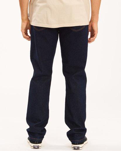 3 Wrangler 73MWOZ Organic Jeans Blue ABYDP00103 Billabong