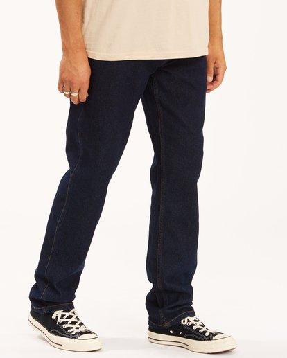 2 Wrangler 73MWOZ Organic Jeans Blue ABYDP00103 Billabong