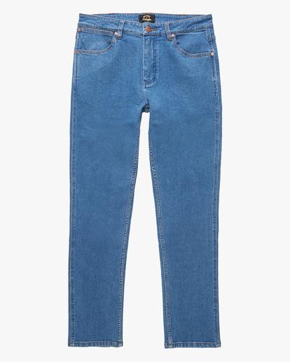 4 Wrangler 73MWHZ Hemp Jeans Blue ABYDP00104 Billabong