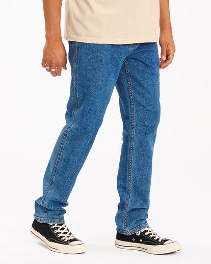 2 Wrangler 73MWHZ Hemp Jeans Blue ABYDP00104 Billabong