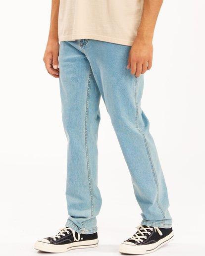 2 Wrangler 73MWOZ Organic Jeans Blue ABYDP00105 Billabong