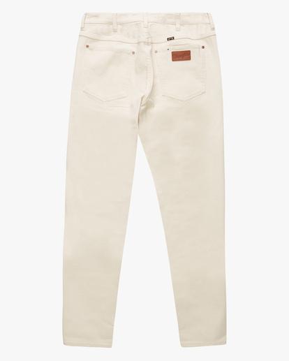 5 Wrangler 73MWOZ Organic Jeans White ABYDP00106 Billabong