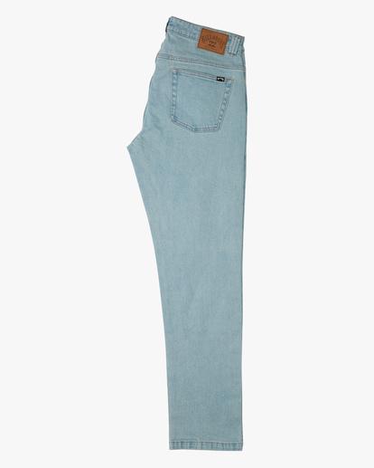 5 73 Slim Straight Jeans Blue ABYDP00107 Billabong